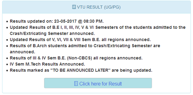 VTU RV Results 2017