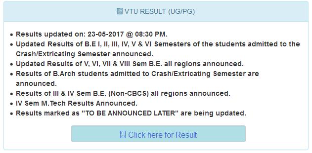 VTU RV Results 2017