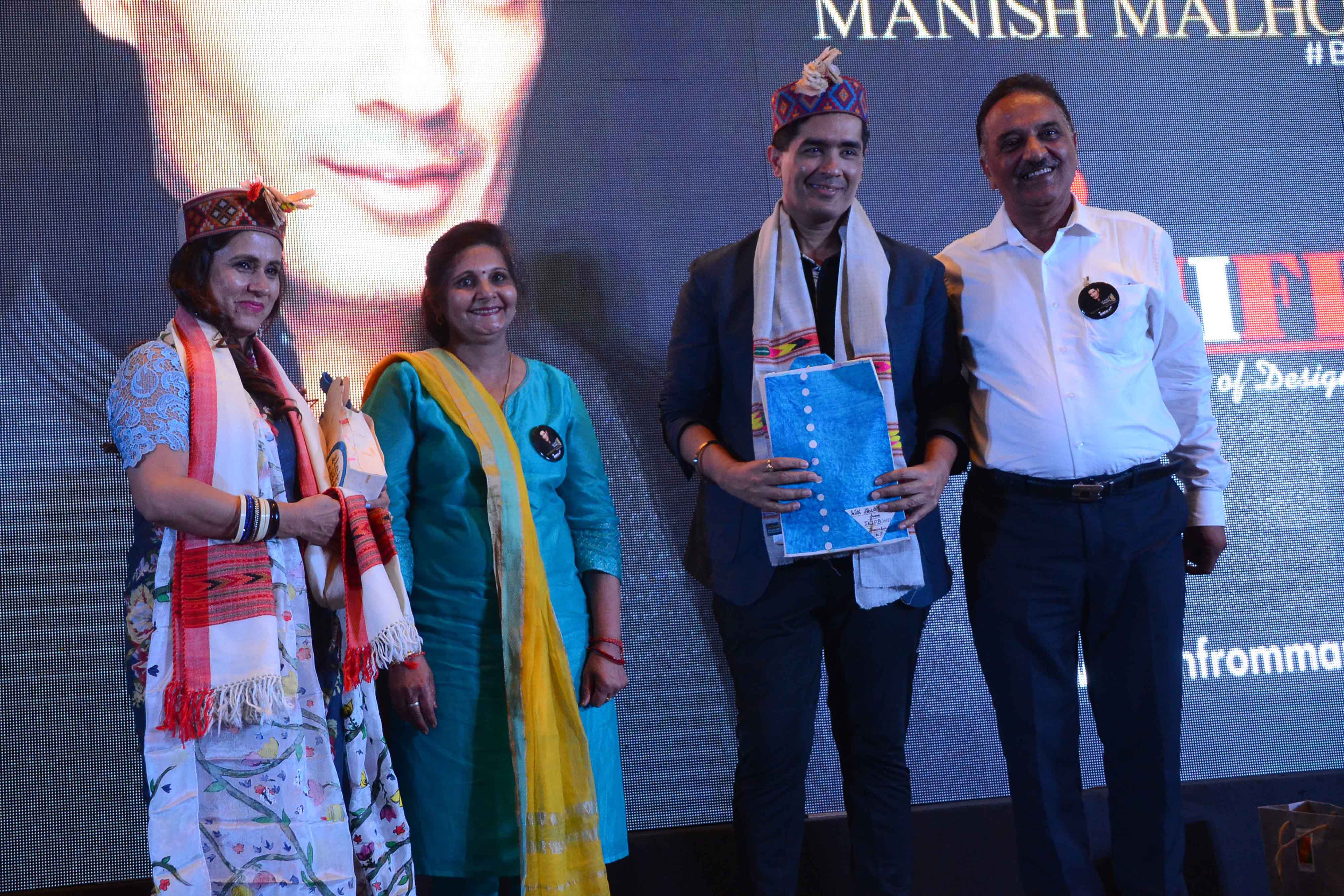 Manish Malhotra at INIFD