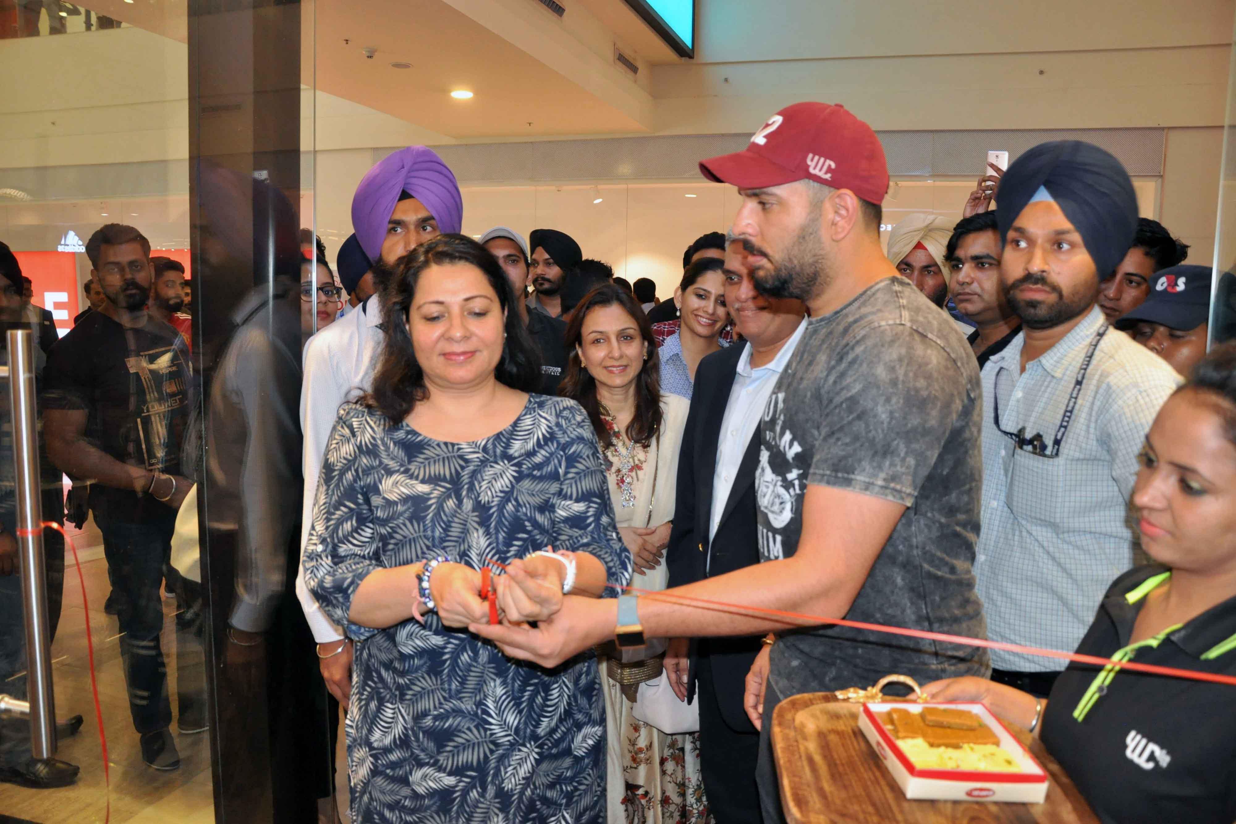 star Cricketer Yuvraj Singh