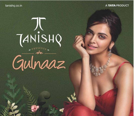 Deepika Padukone Wearing Tanishq's Gulnaaz Collection