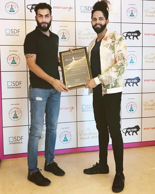 Digital Series awarded as the Best Digital Marketing Agency & Institute of Chandigarh