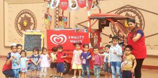 Kinder Piller Ivy School Celebrated Ice Cream Day