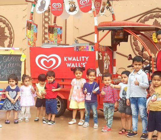 Kinder Piller Ivy School Celebrated Ice Cream Day