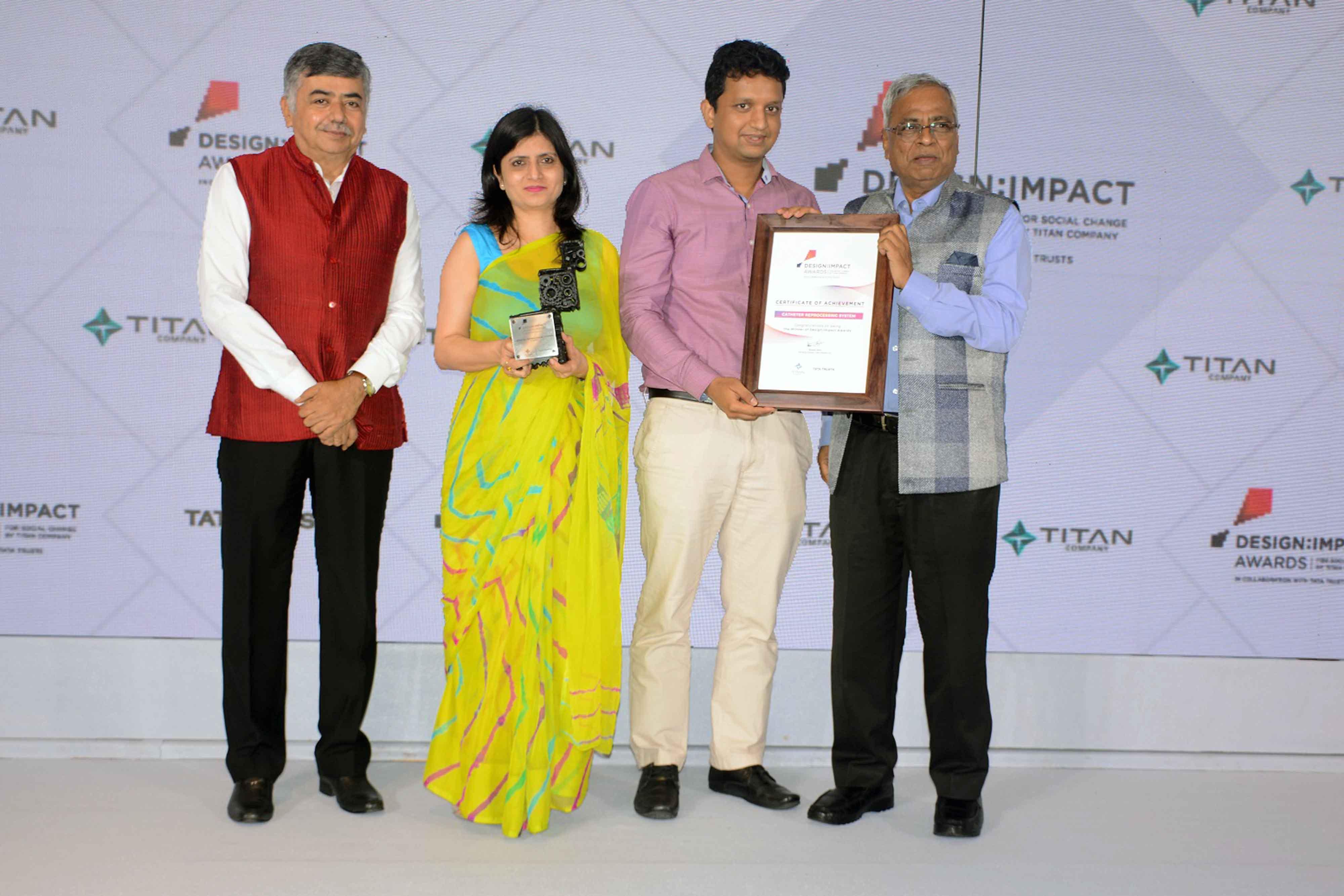 Vikram Goel & Rajwinder Kaur Catheter Reprocessing System