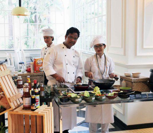 Head Chef Shiiv Parvesh at the Hyatt Big Brunch Weekend at Hyatt Regency Amritsar
