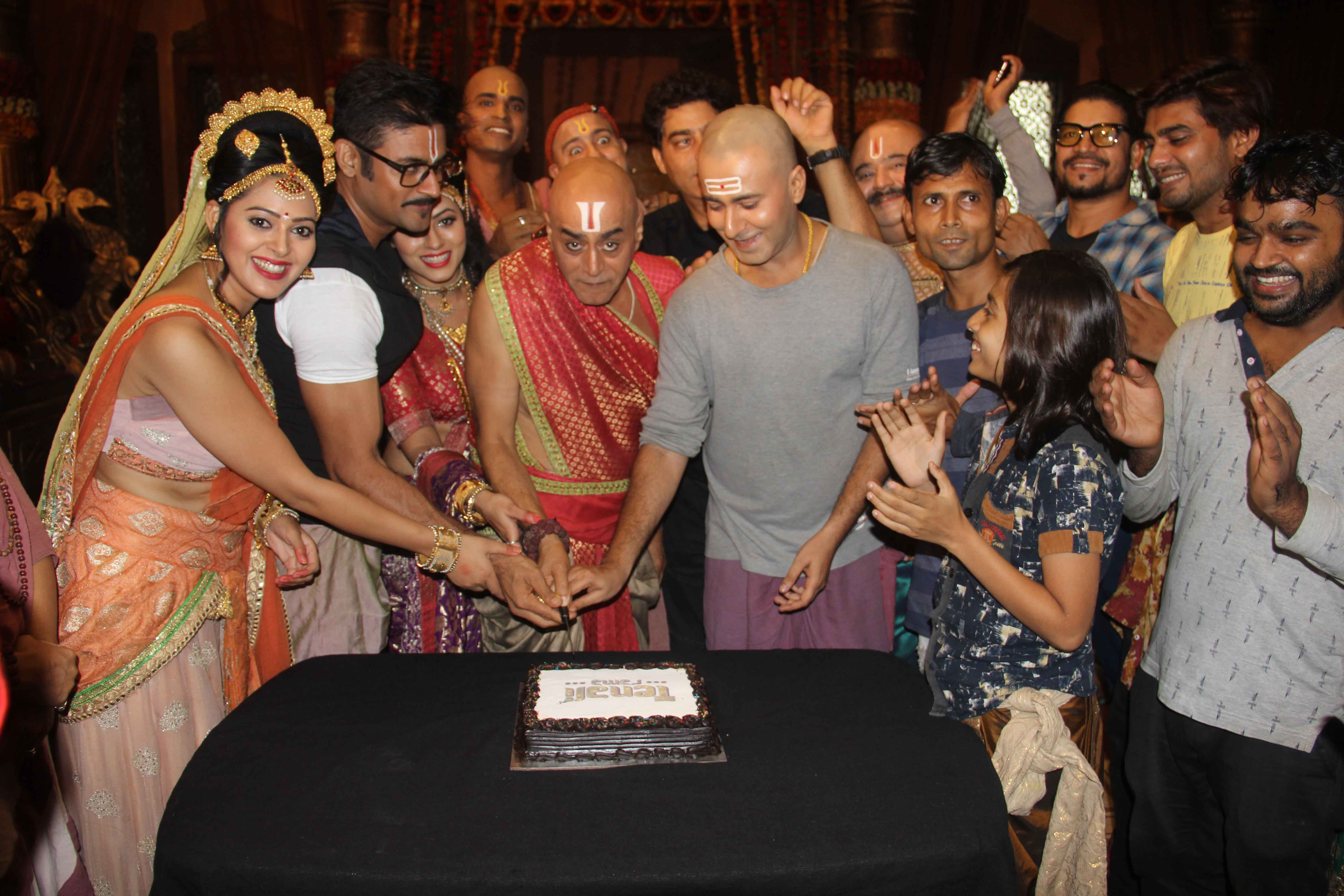 Sony SAB's Tenali Rama Completes One Year, Cast And Crew
