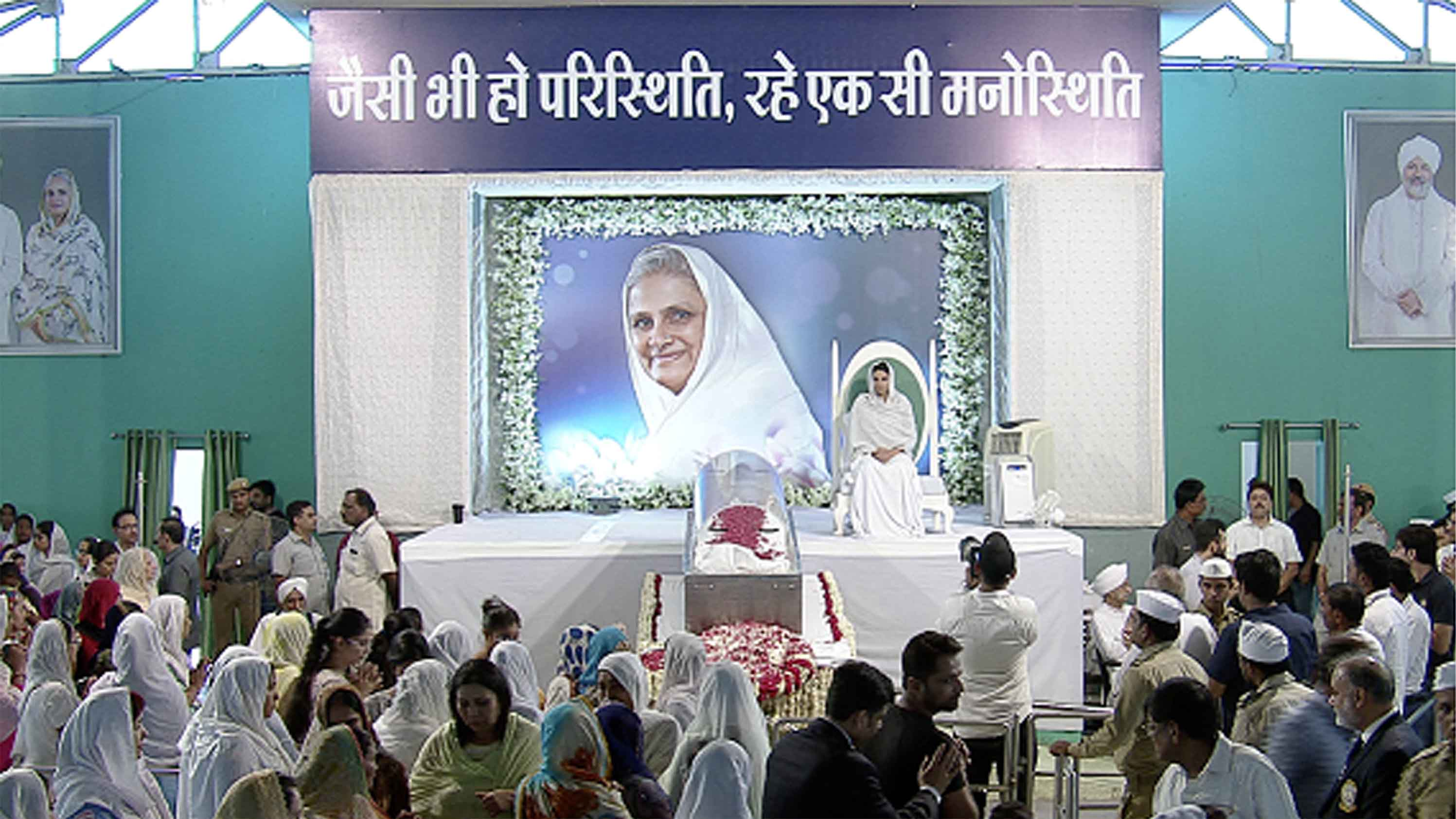 Antim Darshan Of Rev Mata Savinder Hardev Ji