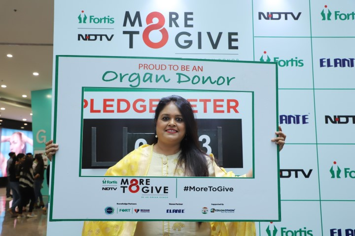 More than 450 people pledge organs at Fortis awareness event on Organ Donation