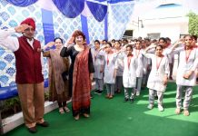 Lt Gen KJ Singh hoists national flag at Tech Mahindra Academy