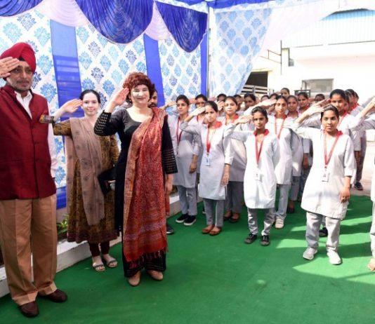Lt Gen KJ Singh hoists national flag at Tech Mahindra Academy