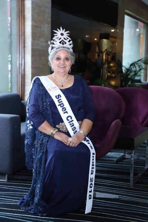 61-Year-Old Jyoti Dogra Makes it Big at Mrs India Pageant
