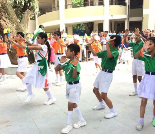 Ankur School celebrates independence day