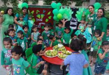 GREEN DAY AT ADARSH SCHOOL