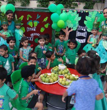 GREEN DAY AT ADARSH SCHOOL