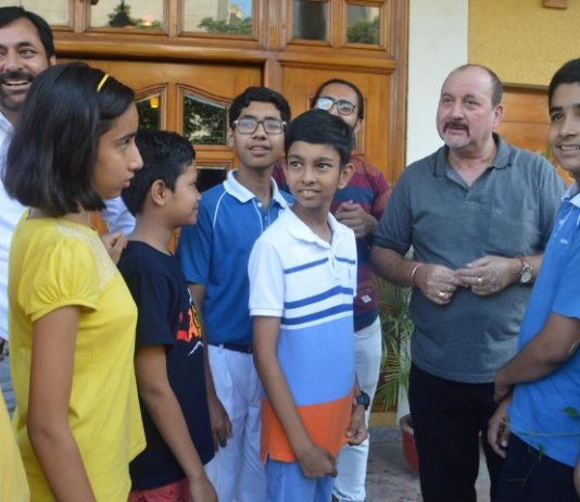 A Ten(10) day short film making workshop conducted by BollyperformCreative Art Co,concluded at The Gurukul School,Sector 20 Panchkula