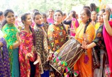 GJIMT organized Teej - the festival of swings