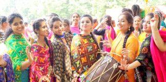 GJIMT organized Teej - the festival of swings