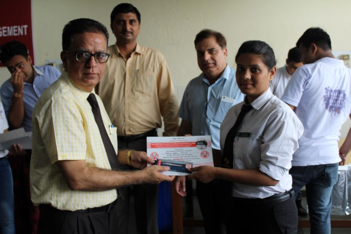 Dr. Ambedkar Institute of Hotel Management organized Blood Donation Camp