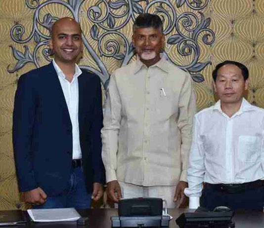 Manu Jain, Nara Chandrababu Naidu, Flame Chen