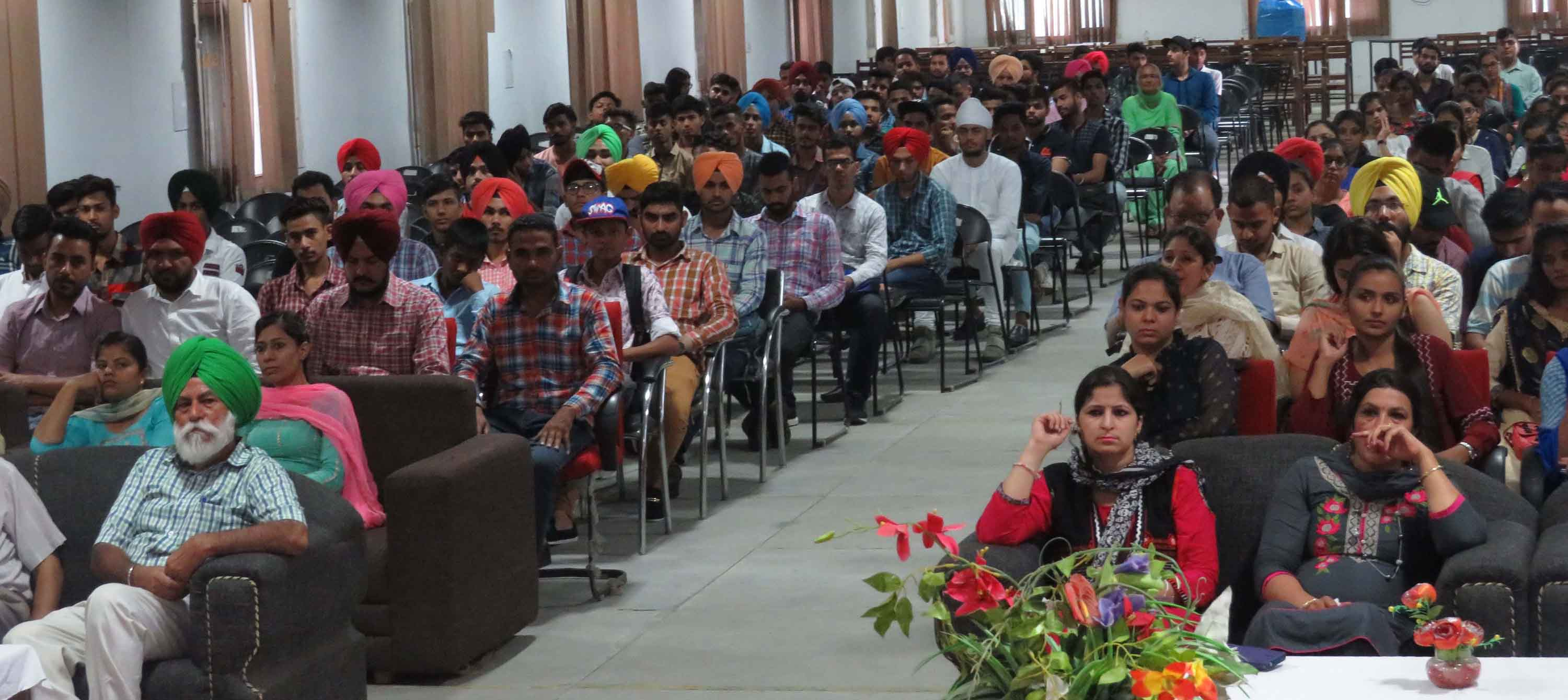 Orientation Programme For New Students At LCET