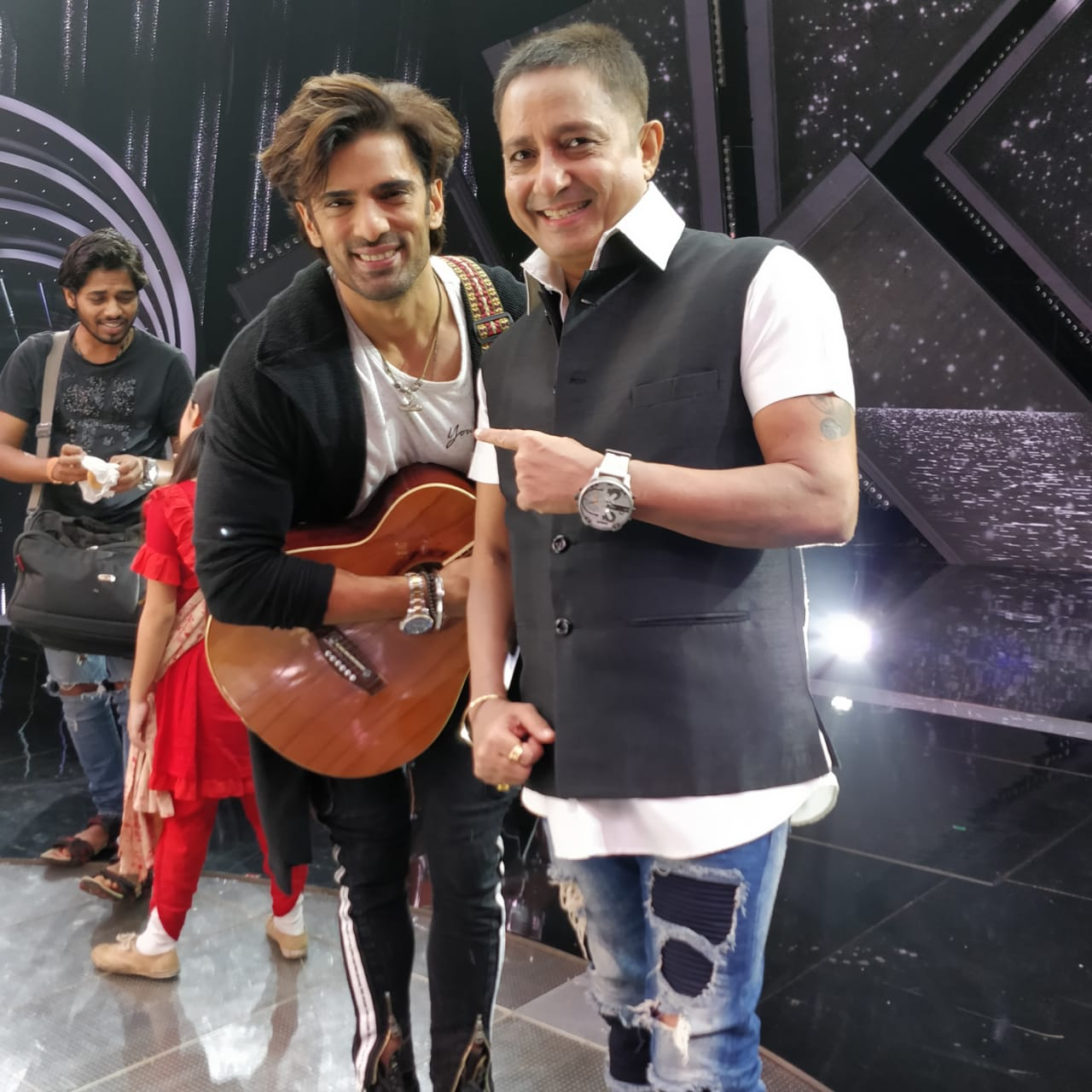 Mohit Malik and Singer Sukhwinder Singh