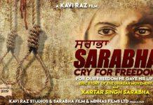 "Kavi Raz is all set with ""SARABHA – Cry for Freedom"""
