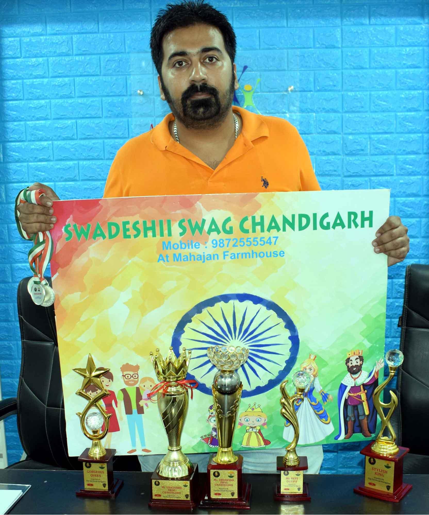 The Swadeshii Swag, Chandigarh Fashion Show