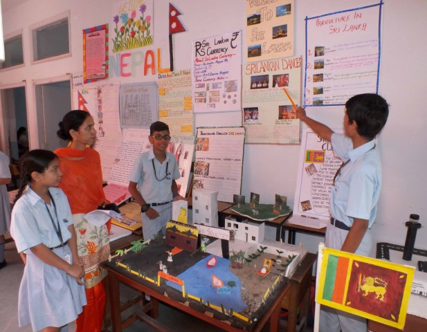 Book Fair, Social Science, Science Exhibition held at Ankur School
