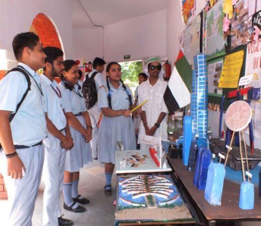 Book Fair, Social Science, Science Exhibition held at Ankur School