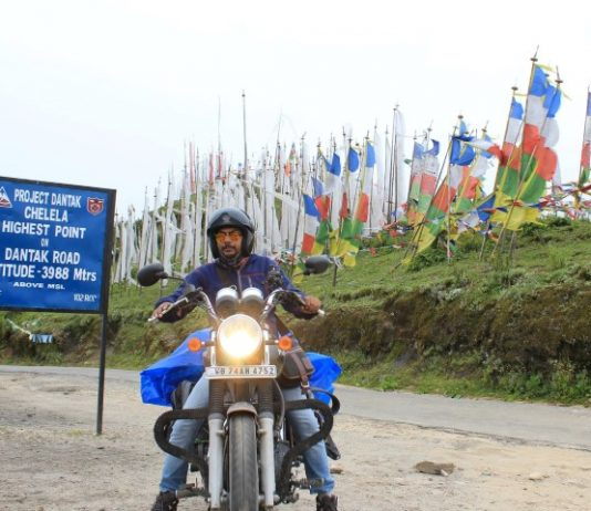 Guinness Record Holder Rajesh Yadav on an  adventurous tour to Bhutan