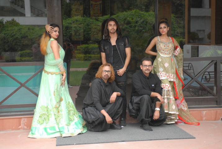 Designers Ajay Sinha & Buzy from Buzjay Fashion are all set to recreate magic of high couture fashion