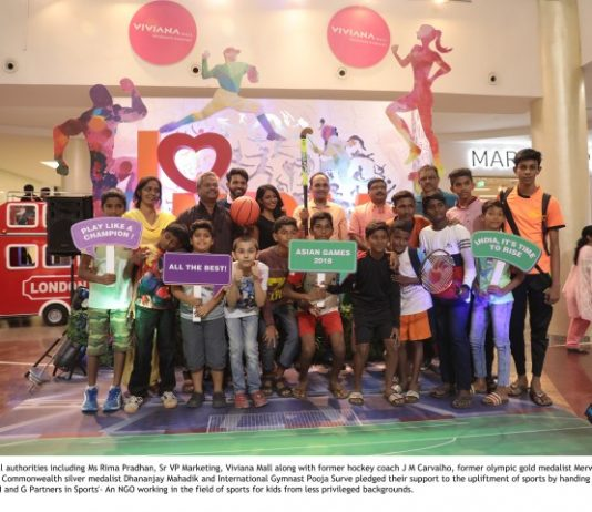 Viviana Mall and Hockey Stalwarts wish Indian Contingent all the best with a cause