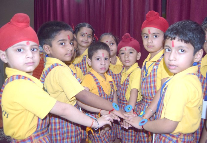 The Holy Wonder Smart School celebrated Raksha Bandhan