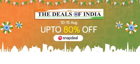 Snapdeal Announces Deals Of India Sale
