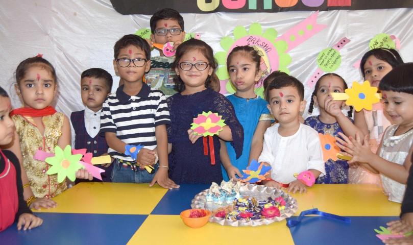 Rakhi Celebrations at Ashmah International School