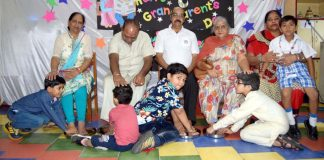 Ashmah International School celebrated Grand Parents Day