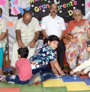 Ashmah International School celebrated Grand Parents Day