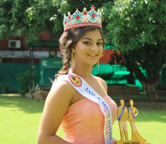 IAWA Miss India 2018