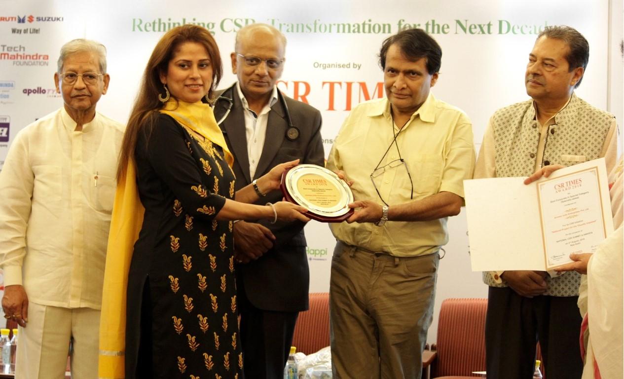 Amway India wins CSR award