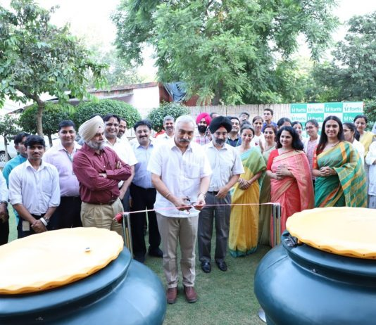 Organic Community Composters at Fortis Mohali
