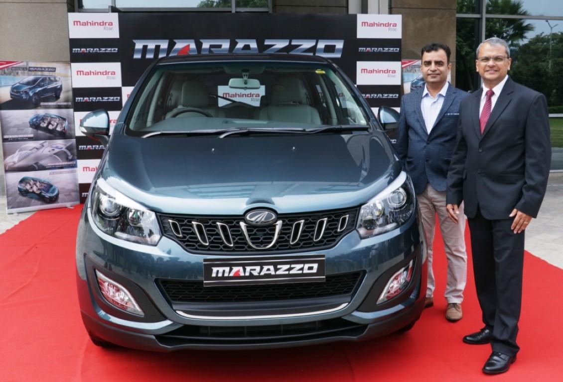 Mahindra Unveils the Marazzo