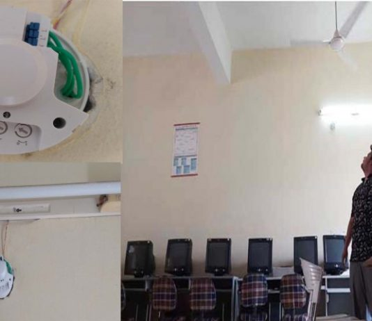 Indo Global Colleges students developed Room Automation