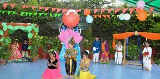 """Woodlands House School Celebrated """"Janmashtami"""