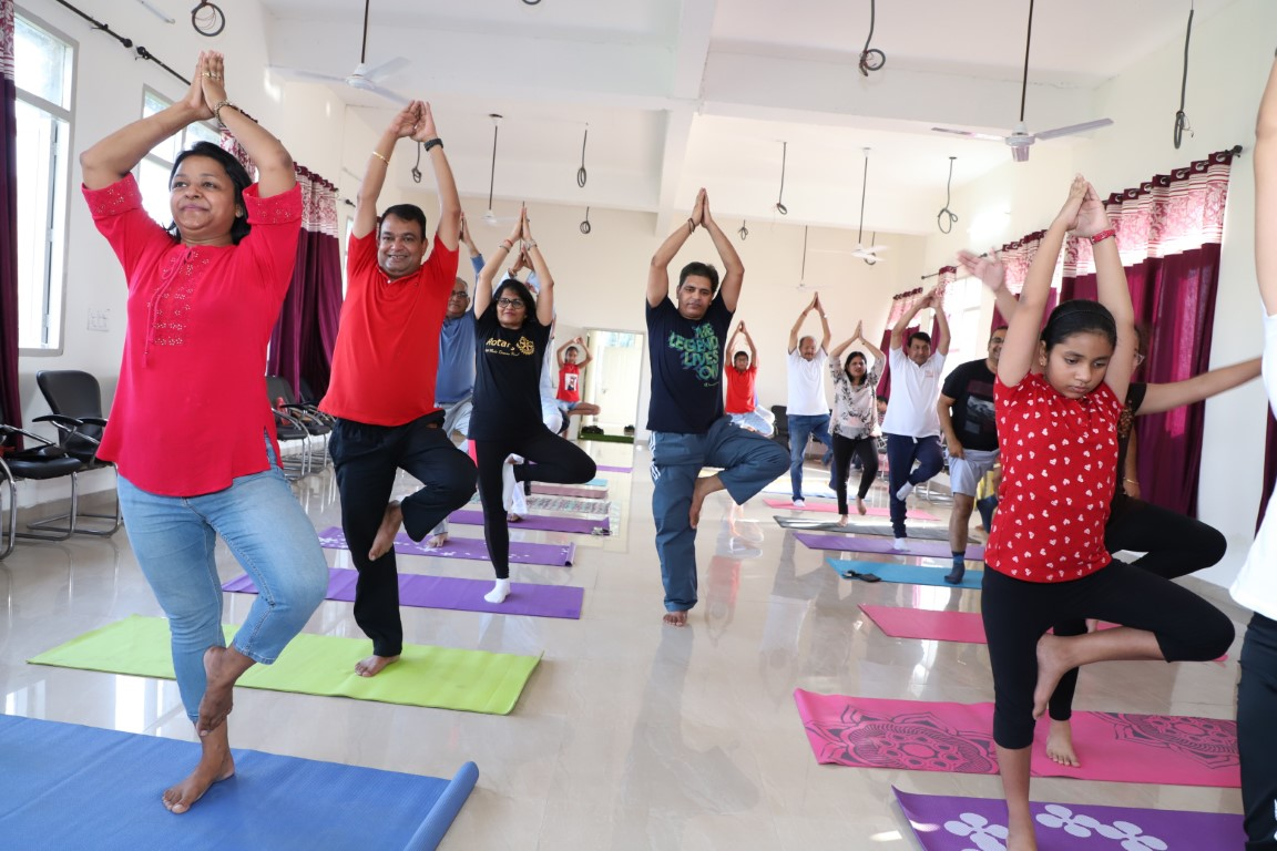 Rotary Club Yoga