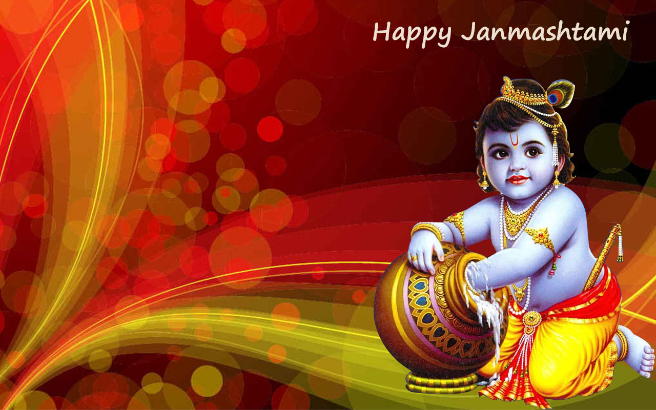 Happy Shri Krishna Janmashtami Quotes Wishes SMS Whatsapp Status DP Images Photos