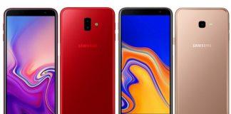 Samsung Galaxy J6+ & J4+