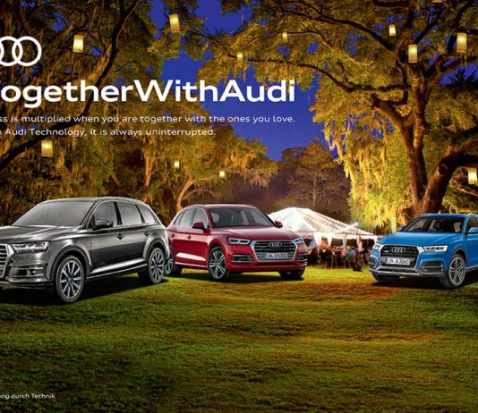 #TogetherWithAudi