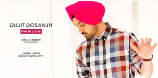 Diljit Dosanjh performs live in Pune
