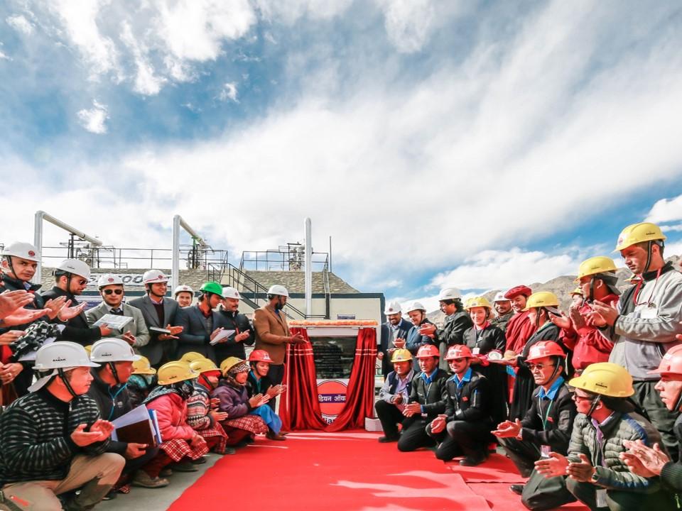 World's Highest Bottling Plant In Leh